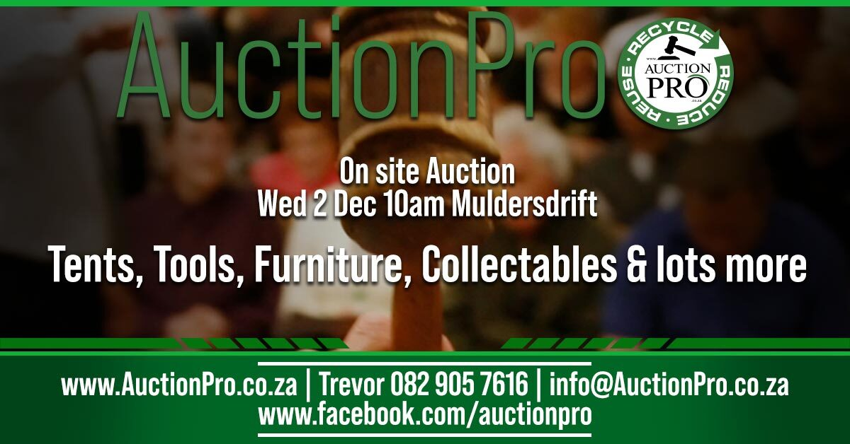 on site auction wed 02/12/2020