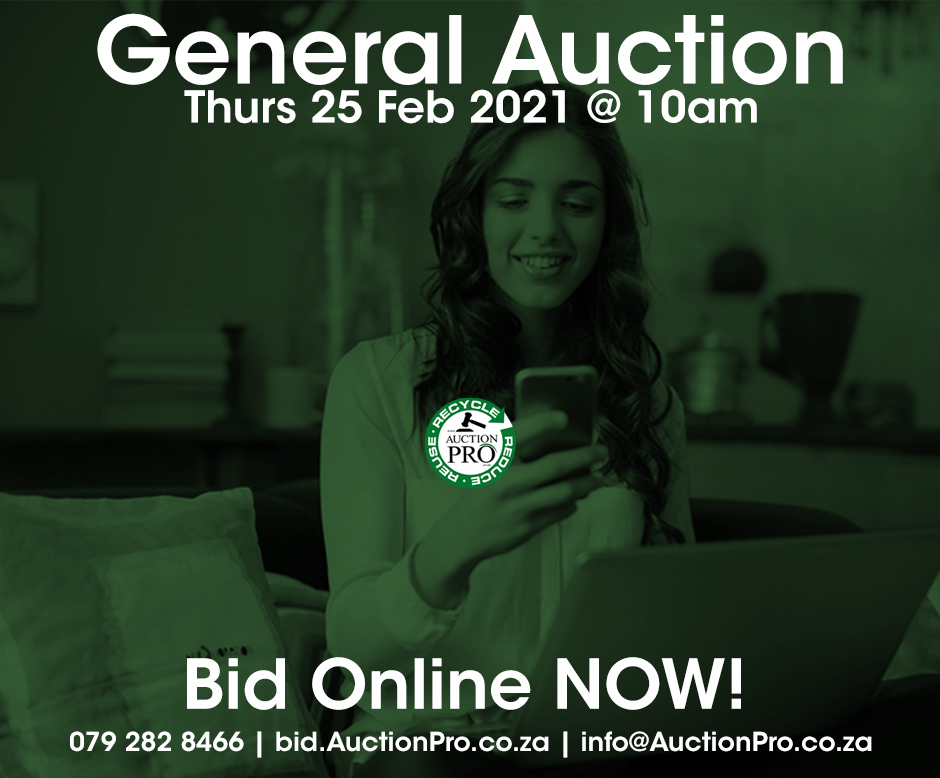 General auction 25 Feb