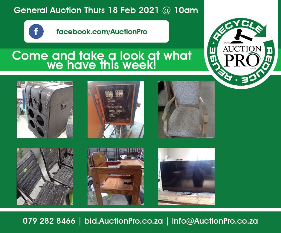 General Auction 18 Feb
