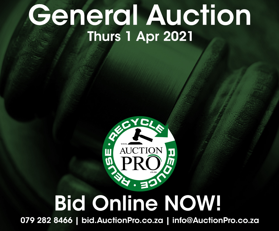 General Auction flyer